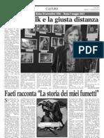 Rossella Falk e La Giusta Distanza