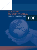 European Security Strategy