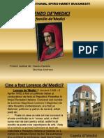 Lorenzo De medici Si familia De Medici