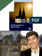 Entdeckungen im Kölner Dom