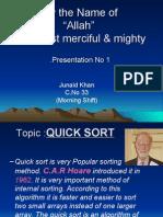 Junaid (Quick Sort)
