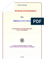 Teachers Manual Diploma Hydropower Engineering