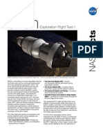 NASA Facts Exploration Flight Test-1