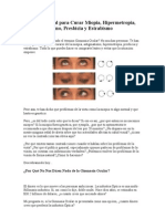 Metodo Natural Para Curar Miopia