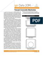 Circular Precast Concrete Manholes