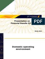 Q3 FY2012 Investors
