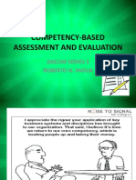 Competency-based Assessment and Evaluation (2)