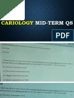 Cario Mid-term Qs