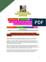 Campionatul Mondial 2006, Inteligenta, Creativitate Si Strategi Practice