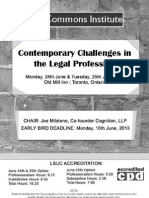 Contemporary Challenges in