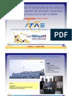 Software per il controllo e la misura delle prestazioni di sistemi avanzati per la produzione del freddo