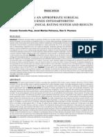 Trimisora Journal Of Osteoarthritis