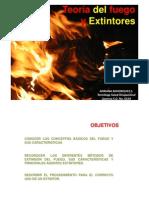 Teoría del fuego y extintores