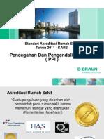 Standart Akreditasi Rumah Sakit. PPI