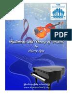 ျမန္မာလို ဂီတအေျခခံစာအုပ္ Rudiments and Theory of Music(1)