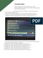 E60 Hidden Navigation Menu Instructions