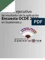 Informe Ejecutivo de Resultados de La Aplicacin Encuesta OCDE 2010 en Guatemala[1]