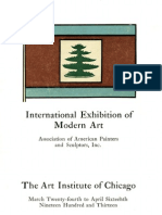 Catalogue Exhibition - 1913 - First Armory Show