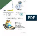 Concurs National Clima 2013