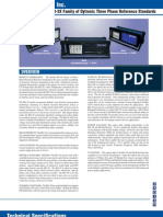 RD Family Dytronic Three-Phase Standards