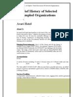CH7 4 Sampled Organization