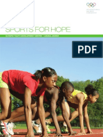 Sports for Hope Brochure
