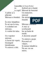 Mirosul Meseriilor de Gianni Rodari