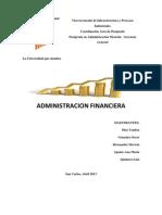 Administracion Financiera Trabajo