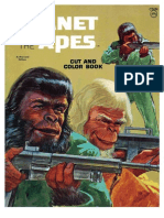 Planet of the Apes Coloring Book - c2434