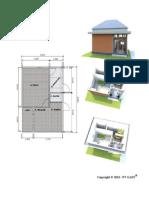 Design Rumah Type 27