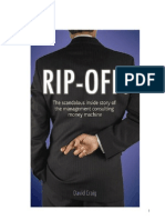 Rip-Off! The scandalous story of the consulting money machine