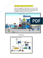 Pembangkit Listrik Tenaga Gas Uap PLTGU/HRSG