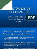 3- Trastornos de Personalidad