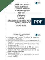 Actual Normas Sistemas Distrib Rev 04 Mar 09