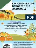 Comparaticion Entre Los Fundadores de La Sociologia