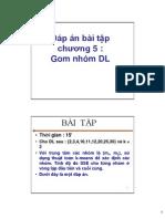Gom Nhom Du Lieu Dap an Bai Tap