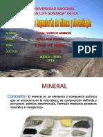 Estudio Del Mineral