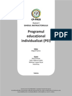 RO TG Mod5 Programul Educational Individualizat (PEI)