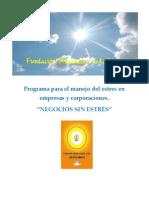 Fundación Amanecer del Alma PORTAFOLIO ANTIESTRES correjido