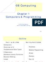 C Programming (1/7) - Computers and Programming