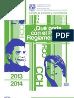 Folleto Pase Reglamentado UNAM 2013-2014