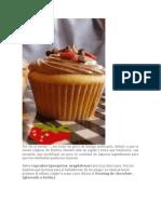 Cupcakes de Vainilla Rellenos de Chocolate