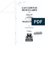 Las Cadenas Musculares Tomo IV