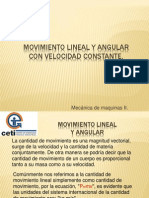 13. Movimiento Lineal y Angular