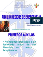 Taller de Auxilios Medicos de Emergencia