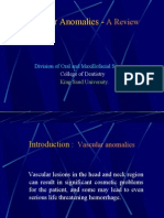Vascular Anomalies Presentation