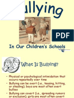 Bullying Power Point Presentation