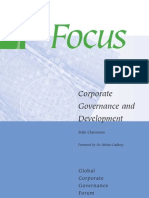 Claessen - Corp Governance and Development
