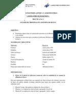 Practica 4 - Proteinas en La Albumina de Huevo