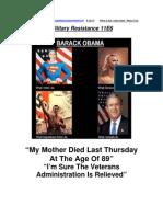 Military Resistance 11E6 Death No Benefits